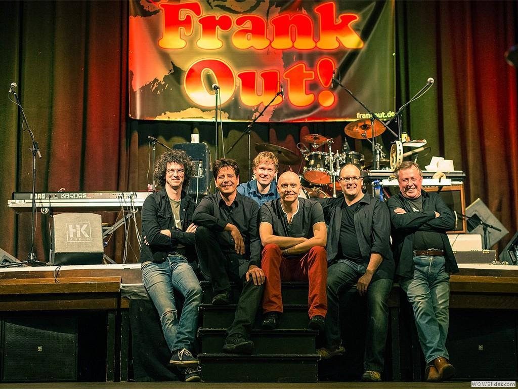 Frank Out!nach dem Soundcheck