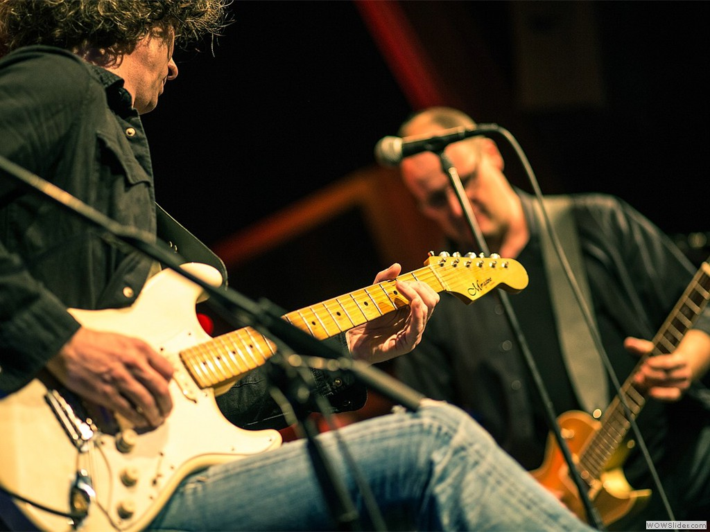 Tandler guitars bei der Arbeit